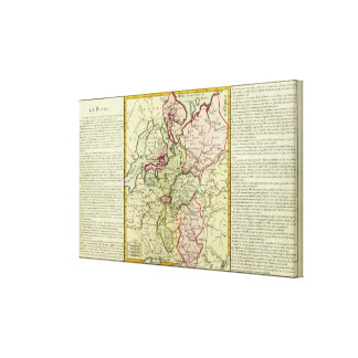 Russia and Urkraine Canvas Print