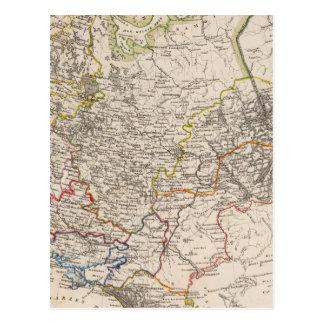 Russia and Urkraine Postcard