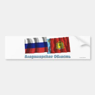 Russia and Vladimir Oblast Bumper Stickers