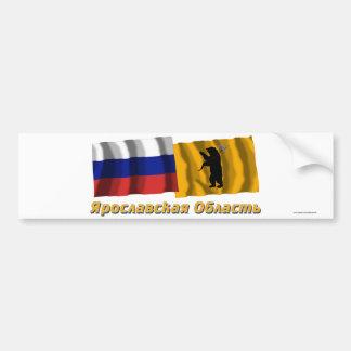 Russia and Yaroslavl Oblast Bumper Stickers