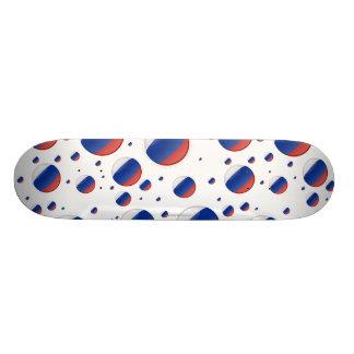 Russia Bubble Flag Skateboard Decks