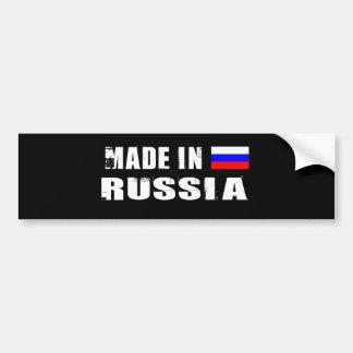 RUSSIA BUMPER STICKER
