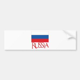 Russia Bumper Sticker