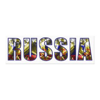 Russia Canvas Print