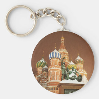 Russia Cathedral Key Ring