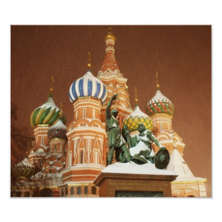 Russia Cathedral Poster