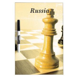 Russia Chess Dry Erase Boards
