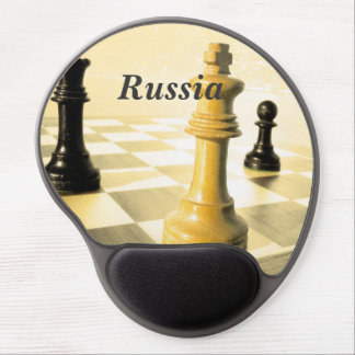 Russia Chess Gel Mouse Pads