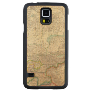 Russia, China, Asia 2 Carved Maple Galaxy S5 Case