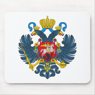 Russia Coat of Arms (18th Century) Mousepad