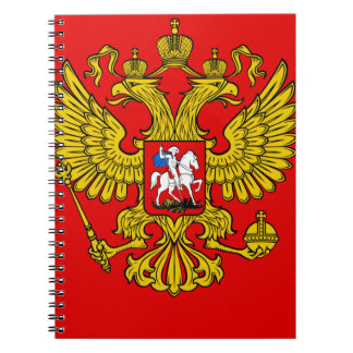 Russia Coat of Arms Notebooks