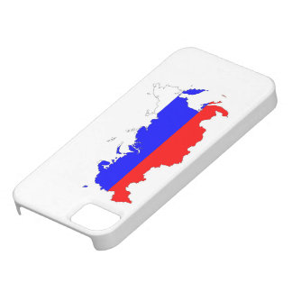 russia country flag map shape symbol iPhone 5 case