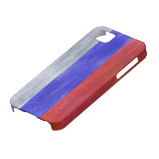 Russia distressed Russian flag Barely There iPhone 5 Case
