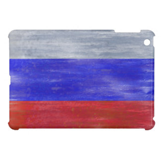 Russia distressed Russian flag Cover For The iPad Mini