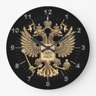 Russia double eagle large clock