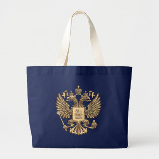Russia double eagle large tote bag