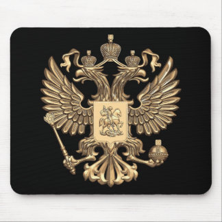 Russia double eagle mouse mat