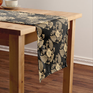 Russia double eagle short table runner