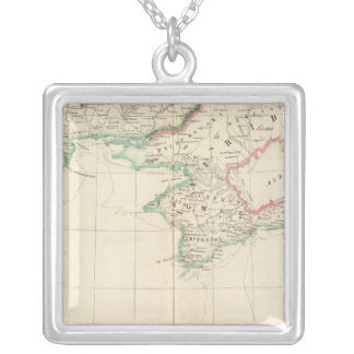 Russia, Europe 22 Silver Plated Necklace