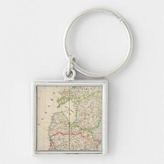 Russia, Europe 9 Key Ring