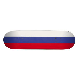Russia Flag 18.1 Cm Old School Skateboard Deck