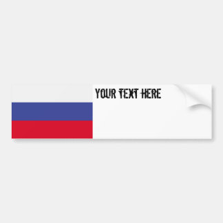Russia Flag Bumper Stickers