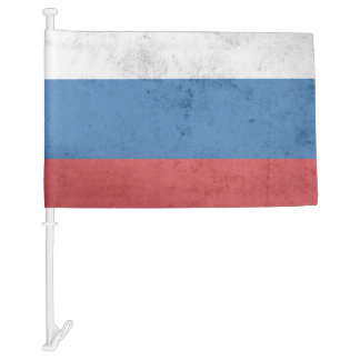 Russia Flag Car Flag