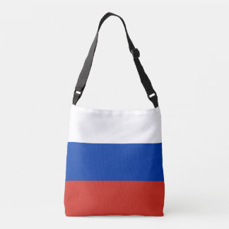 Russia Flag Crossbody Bag