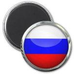 Russia Flag Glass Ball