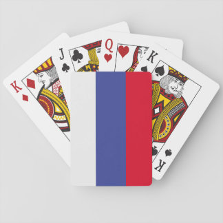 Russia Flag Poker Deck