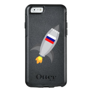 Russia Flag Rocket OtterBox iPhone 6/6s Case