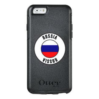 Russia Flag Simple Dark OtterBox iPhone 6/6s Case