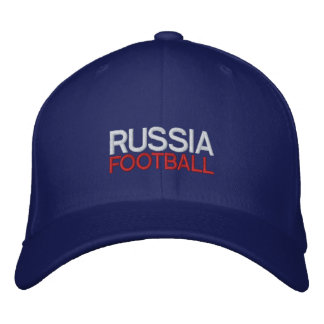 RUSSIA FOOTBALL EMBROIDERED HAT