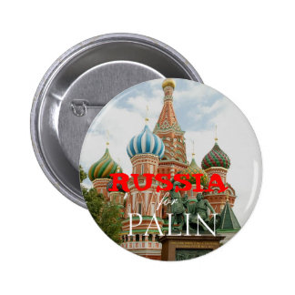 Russia for Palin 6 Cm Round Badge