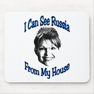 Russia From My House Mouse Pad