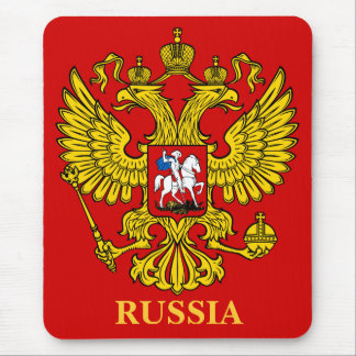 RUSSIA GERB MOUSEPAD