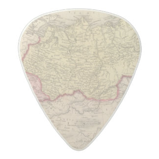 Russia in Asia and Tartary 2 Acetal Guitar Pick