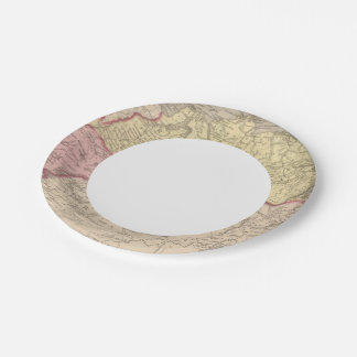Russia in Asia and Tartary 2 Paper Plate
