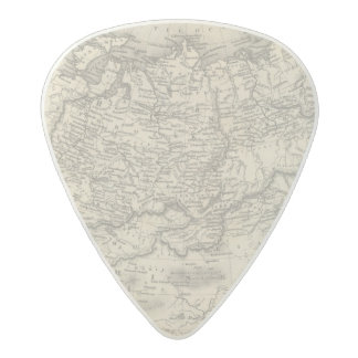 Russia in Asia and Tartary Acetal Guitar Pick