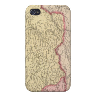 Russia in Asia and Tartary Cases For iPhone 4