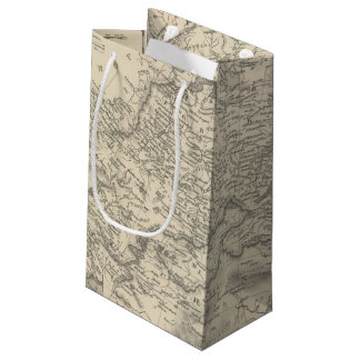 Russia in Asia and Tartary Small Gift Bag