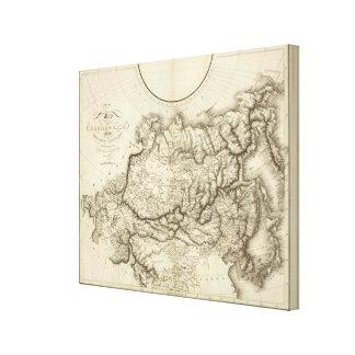 Russia in Asia Canvas Print