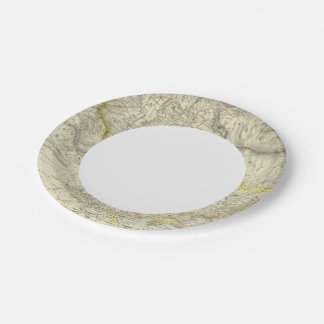 Russia in Asia, Chinese Empire 7 Inch Paper Plate