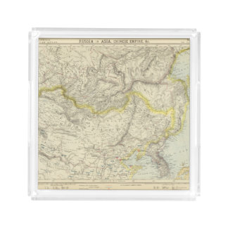 Russia in Asia, Chinese Empire Acrylic Tray