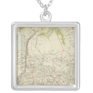 Russia in Asia Silver Plated Necklace