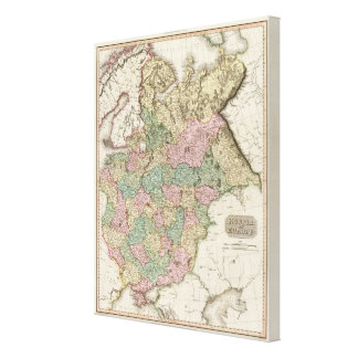 Russia in Europe 2 Canvas Print