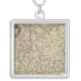Russia In Europe 2 Silver Plated Necklace
