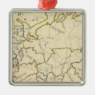 Russia in Europe 3 Christmas Ornament