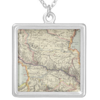 Russia in Europe 5 Silver Plated Necklace