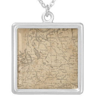 Russia in Europe 6 Silver Plated Necklace